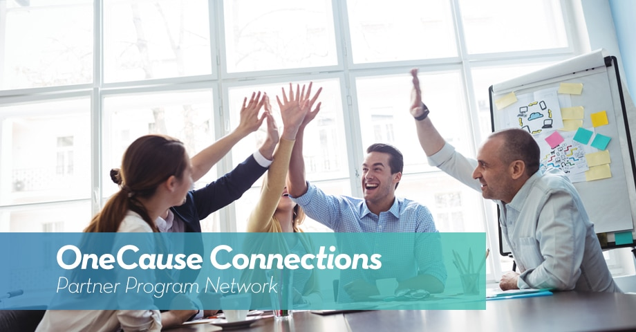 OneCause Connections: Partner Program Network