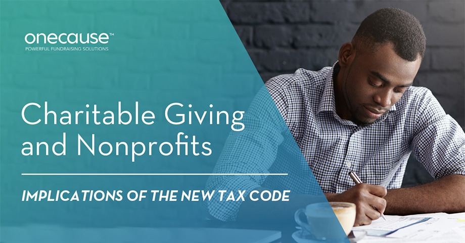 Charitable Giving and Nonprofits: Implications of the New Tax Code