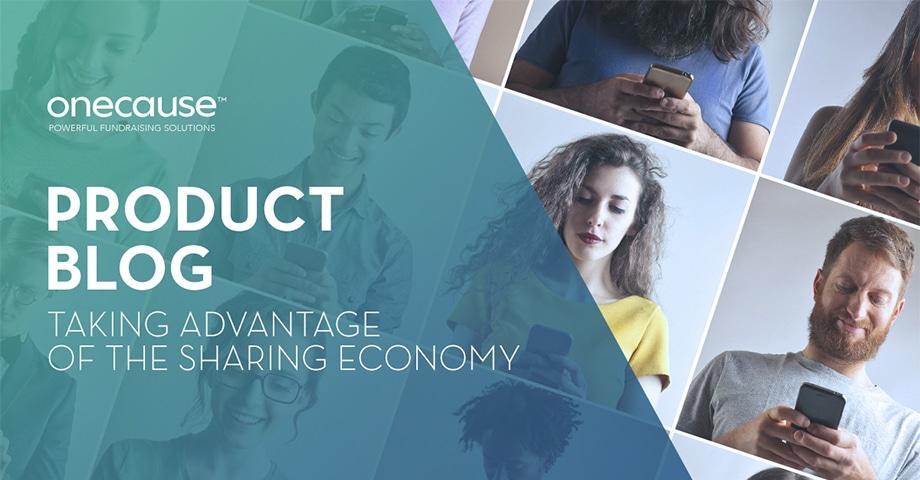 Product Blog: Taking Advantage of the Sharing Economy