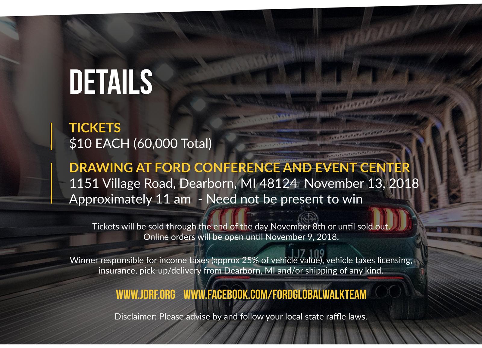 FordBullett Details