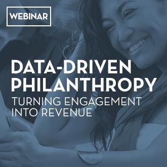Webinar: Data Driven Philanthropy