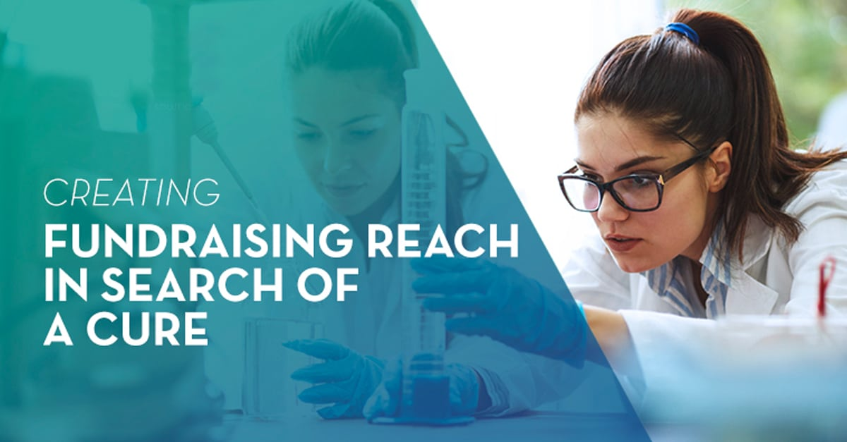 Creating Fundraising Reach In Search Of A Cure