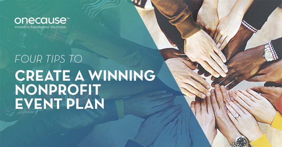 Four Tips To Create A Winning Nonprofit Event Plan