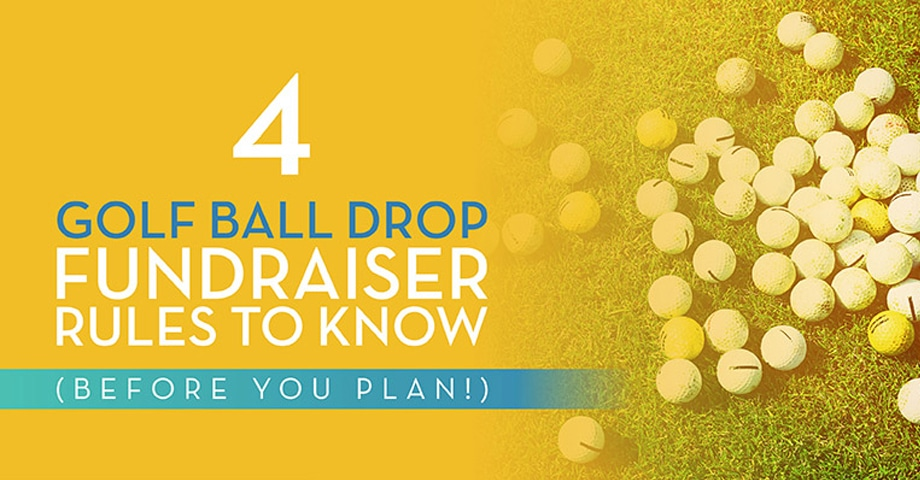 4 Golf Ball Drop Fundraiser Rules to Know (Before You Plan!)