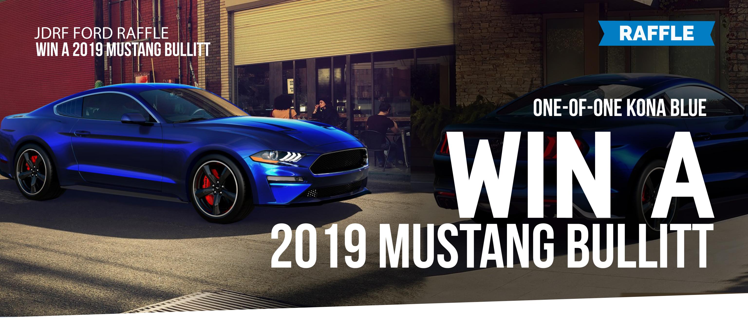 Win a 2019 Mustang Bullitt