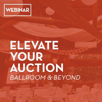 Elevate your charity auction with advice from our webinar!