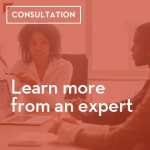 Learn more from an expert, schedule a consultation