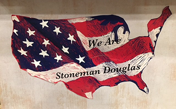 We are Stoneman Douglas American Map
