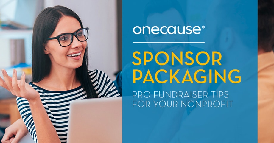 Sponsor Packaging Pro Fundraiser tips for your Nonprofit