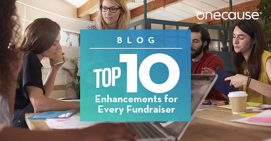 BLOG Top 10 Enhancements for Every Fundraiser