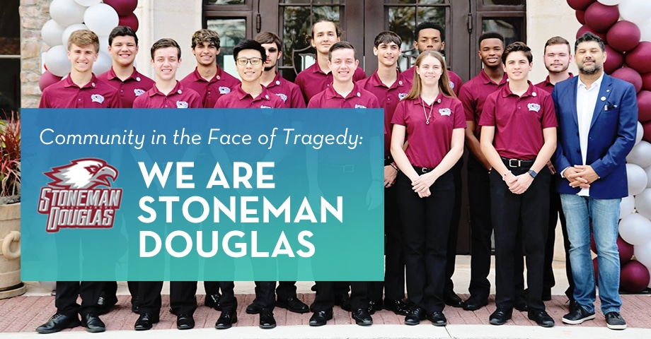 SUCCESS STORY: Community in the Face of Tragedy: We Are Stoneman Douglas-face-of-tragedy