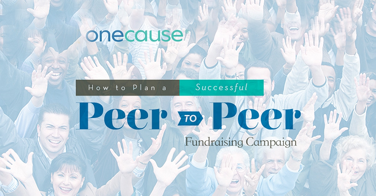 Article: How to plan a successful Peer-to-Peer Fundraising Campaign