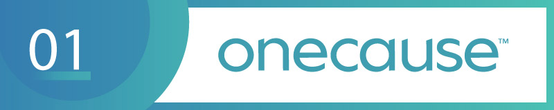 OneCause is a top choice for nonprofit silent auction software.