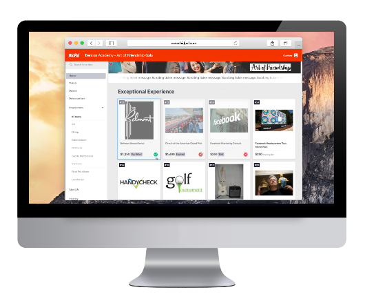 Online charity auction software can be a major asset for your organization.