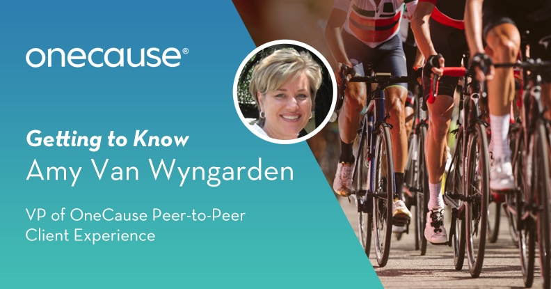 Getting to Know Amy Van Wyngarden OneCause's VP of Peer-to-Peer Client Experience