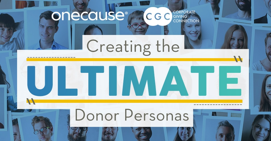 WEBINAR Creating the Ultimate Donor Personas