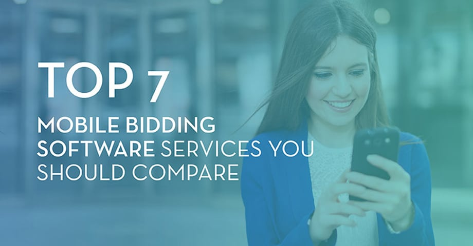 Top 7 Mobile Bidding Software Services You Should Compare