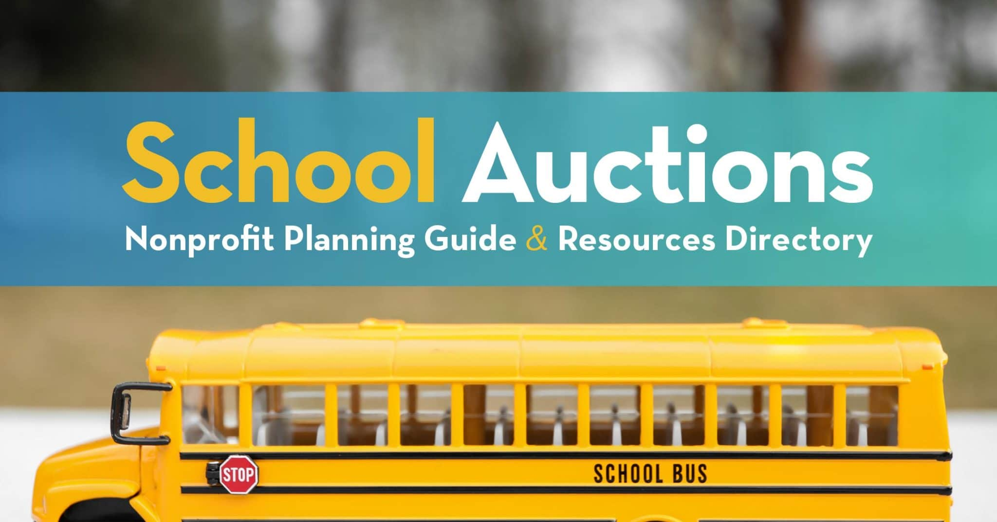 Learn more about school auctions and how to plan your own with our complete guide and directory.