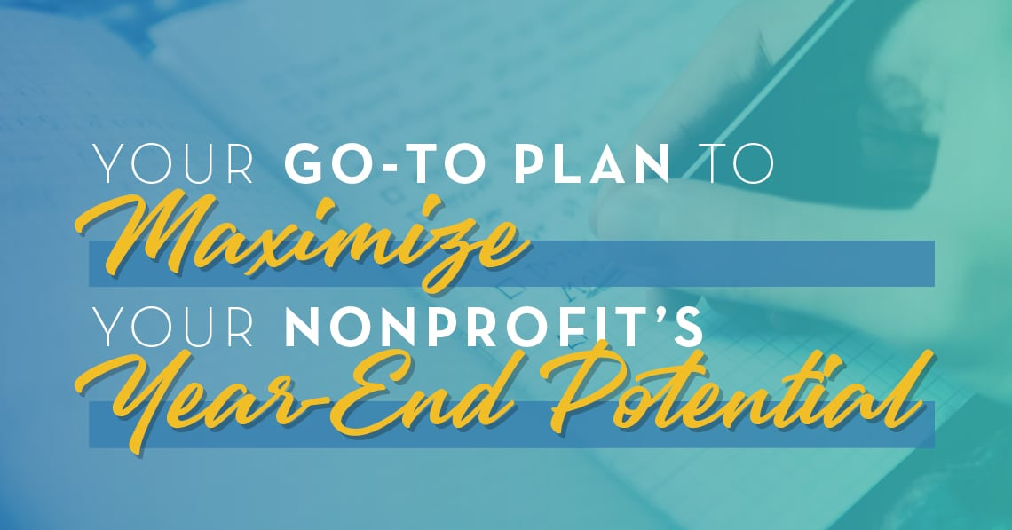 Your go-to plan to maximizing year-end potential