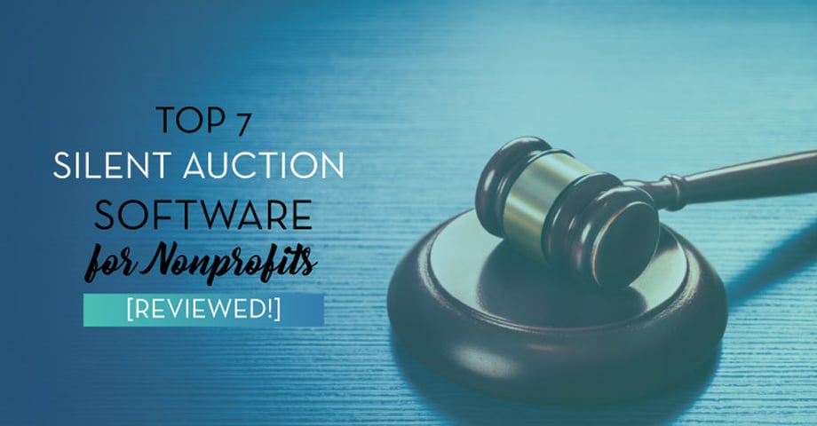 Top 7 Silent Auction Software for Nonprofits [Reviewed!]