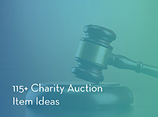 Check out our comprehensive list of charity auction item ideas.