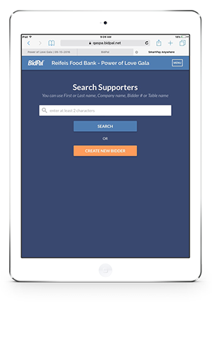 Use mobile auction planning software to totally streamline check-in at your charity auction.