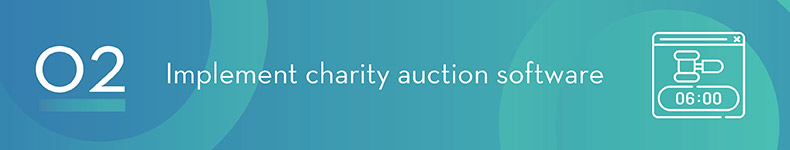 Find charity auction software to help plan and manage your event.