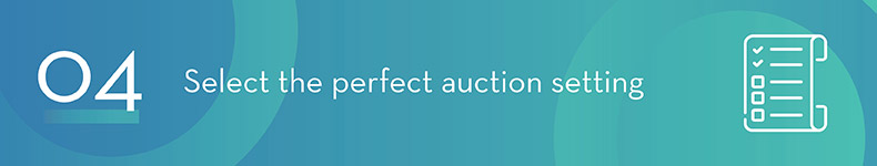 The right setting will take your charity auction to the next level.