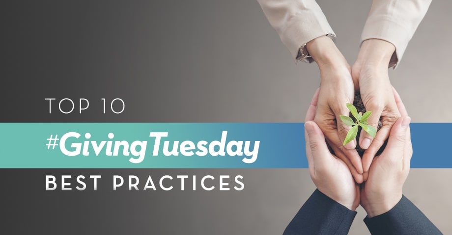Top 10 Giving Tuesday Best Practices