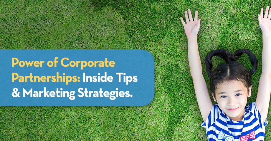 WEBINAR Power of Corporate Partnerships: Inside Tips & Marketing Strategies