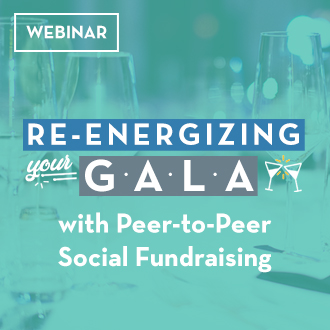 WEBINAR: Re-energize your Galal with Peer-to-Peer Social Fundraising