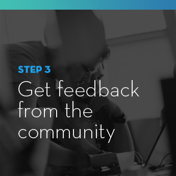 Solicit feedback from the community on different aspects of your school auction.