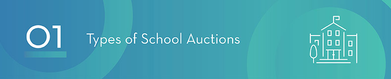 Consider what type of school auction might be best for your school.