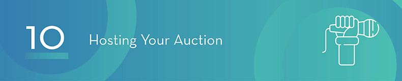 Hosting your silent auction can be challenging but preparing ahead of time will help.