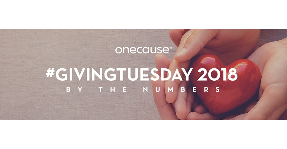 #GIVINGTUESDAY 2018 By The Numbers