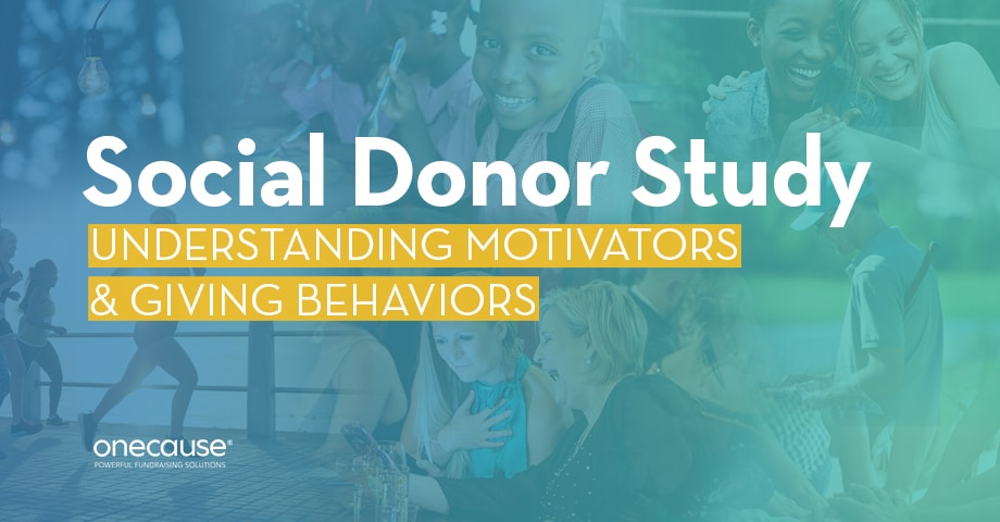 Social Donor Study: Understanding Motivations & Giving Behaviors