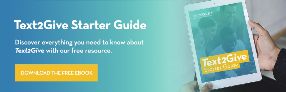 Become a text-to-give expert with our free starter's guide!