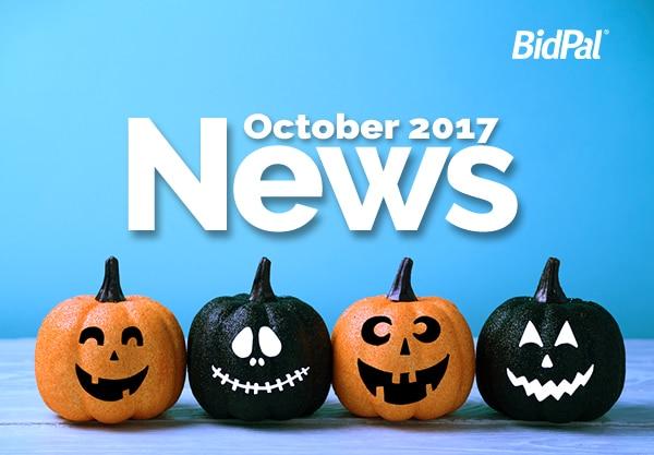 BidPal October News 2017