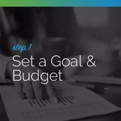 Begin by setting a goal and budget for your live auction.