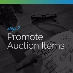 Promote your auction items whenever possible.