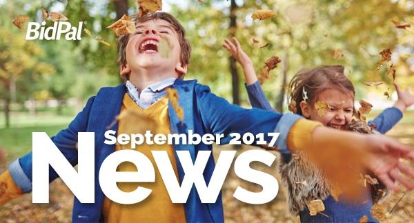 BidPal September News 2017