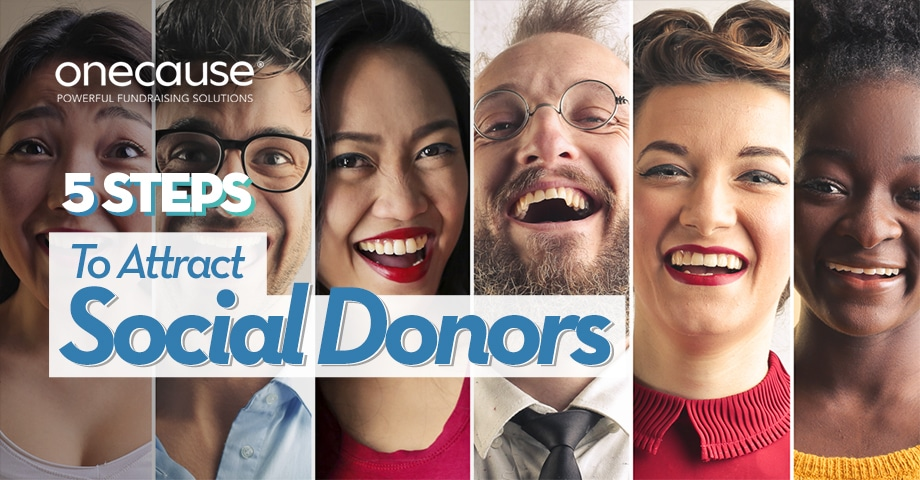 5 Steps to Attract Social Donors