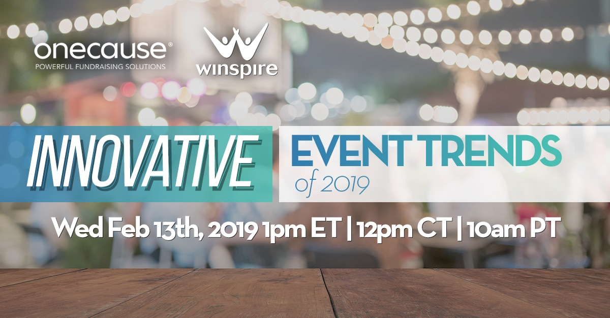Innovative Event Trends 2019