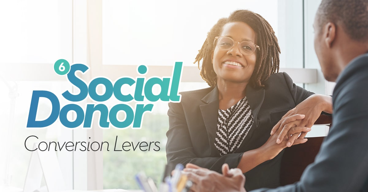 6 Social Donor Conversion Levers