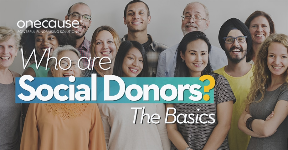 Who Are Social Donors?