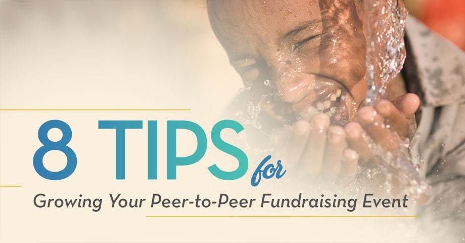 8 Tips for Growing your Peer-to-Peer Fundraising Event