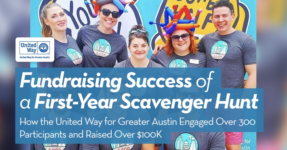 Fundraising Success of a First-Year Scavenger Hunt