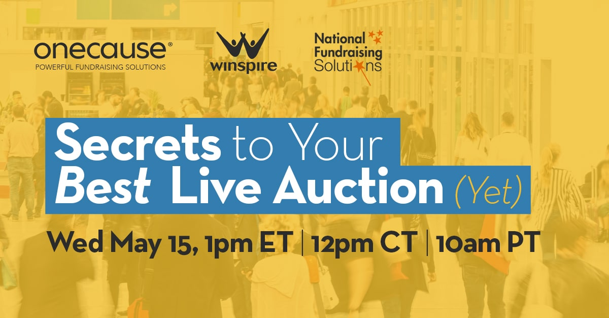 Secrets to your Best Live Auction Yet