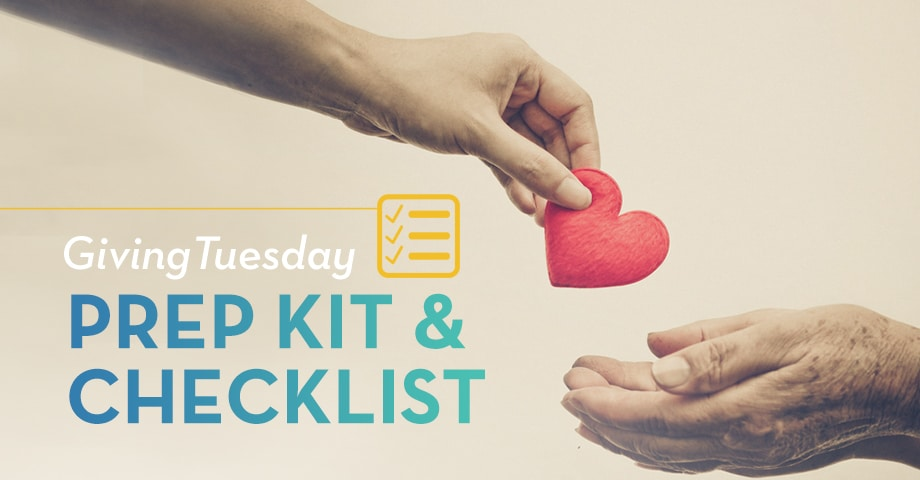 Giving Tuesday Prep Kit & Checklist