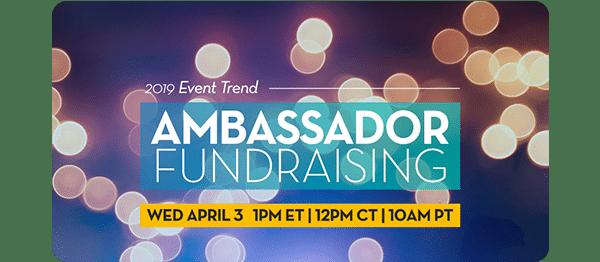 Webinar Ambassador Fundraising